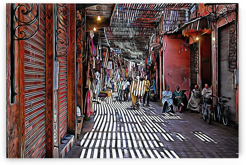 Souk Marrakesh 1 by Dorothy Berry-Lound