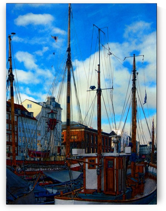 A Study in Masts by Dorothy Berry-Lound