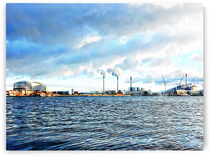 Harbour View Copenhagen by Dorothy Berry-Lound