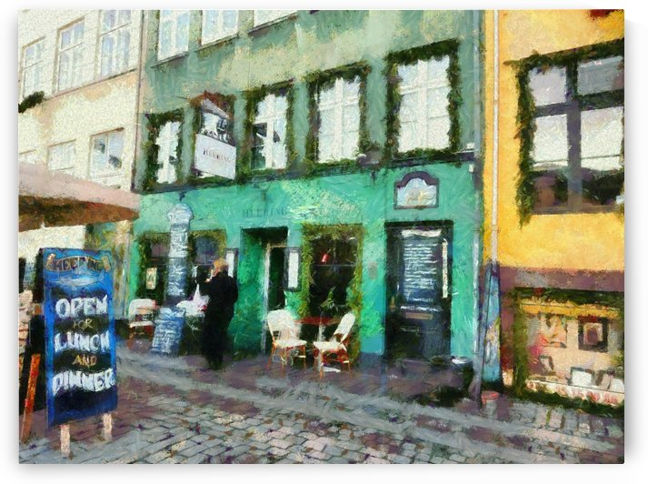Green Cafe Copenhagen by Dorothy Berry-Lound