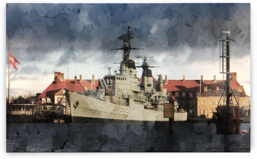 HDMS Peder Skram by Dorothy Berry-Lound