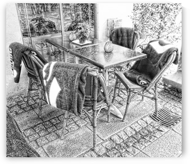 Keep Warm Eating Outside by Dorothy Berry-Lound