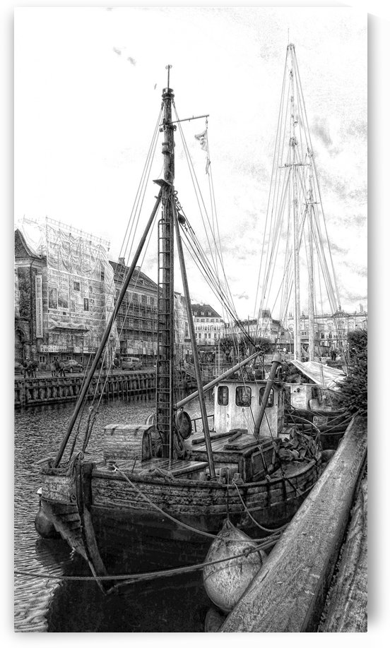 Moored Sail by Dorothy Berry-Lound