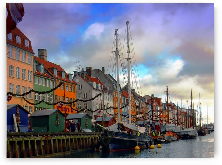 Nyhavn harbour by Dorothy Berry-Lound