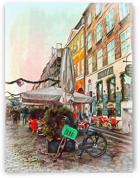 Stopped for a Coffee Copenhagen by Dorothy Berry-Lound