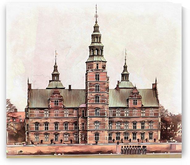 Rosenborg Castle Copenhagen by Dorothy Berry-Lound
