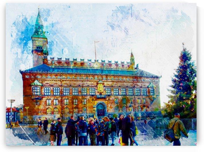 City Hall Copenhagen by Dorothy Berry-Lound