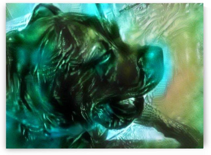 Dog Drawing (8) by NganHongTruong