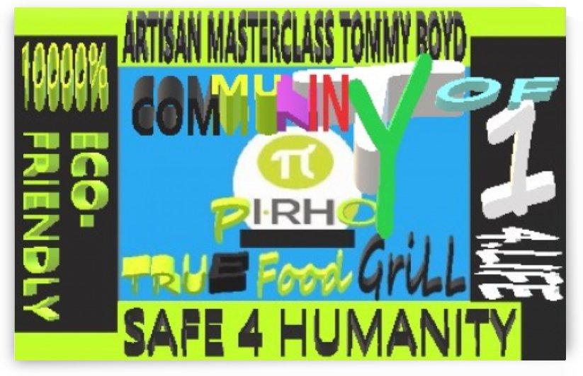 PI RHO TRUE FOOD GRILL 4.LIFE by KING THOMAS MIGUEL BOYD