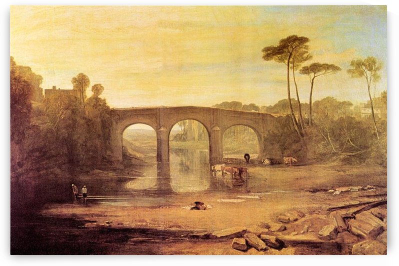 Whalley Bridge by Joseph Mallord Turner by Joseph Mallord Turner