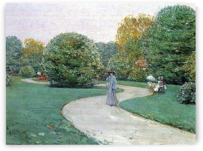 Parc Moneceaux, Paris by Hassam by Hassam