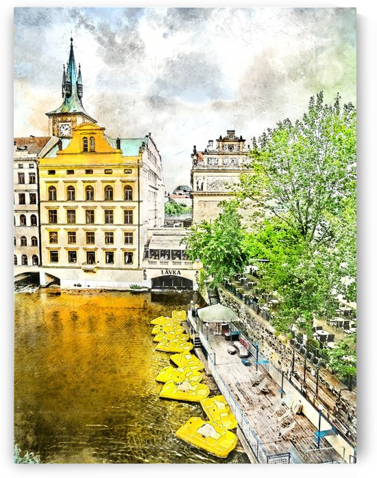 Praha city art  by Justyna Jaszke