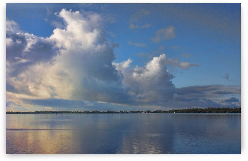 Summer Clouds On The Bay by HH Photography of Florida