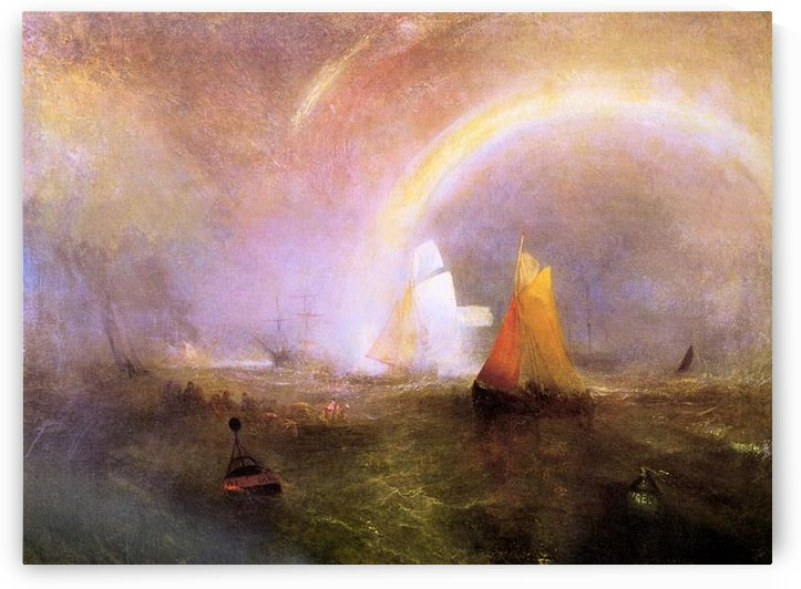 Wrecked bouys by Joseph Mallord Turner by Joseph Mallord Turner