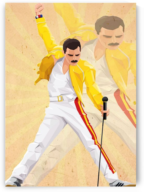 Freddie Mercury Spirit Queen by Gunawan Rb