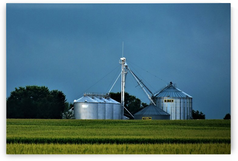 Rural Iowa Farm by Eric Schmitz