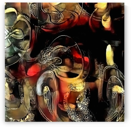 Abstract Modern Painting by Bruce Rolff
