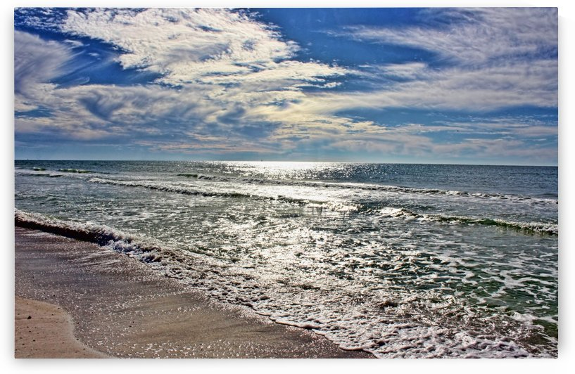 Sparkling Gulf Waters by HH Photography of Florida