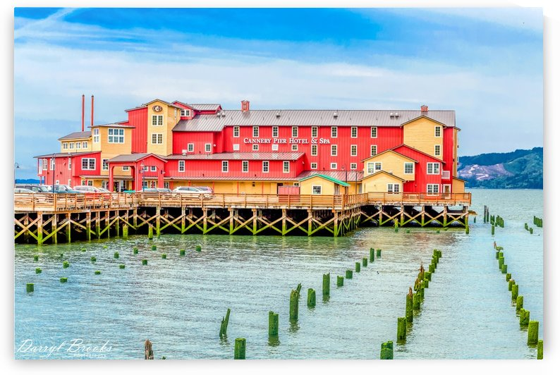 Cannery Pier Hotel and Spa by Darryl Brooks