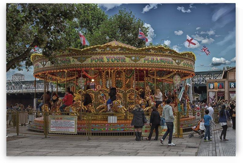 Carousel in London copy by Darryl Brooks