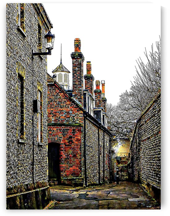 Down The Alleyway Lewes by Dorothy Berry-Lound