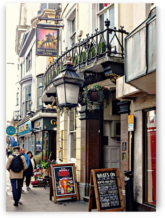 Royal Pavilion Tavern Brighton by Dorothy Berry-Lound