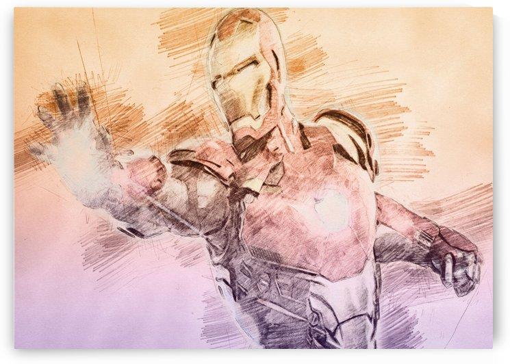 Iron Man by Gunawan Rb