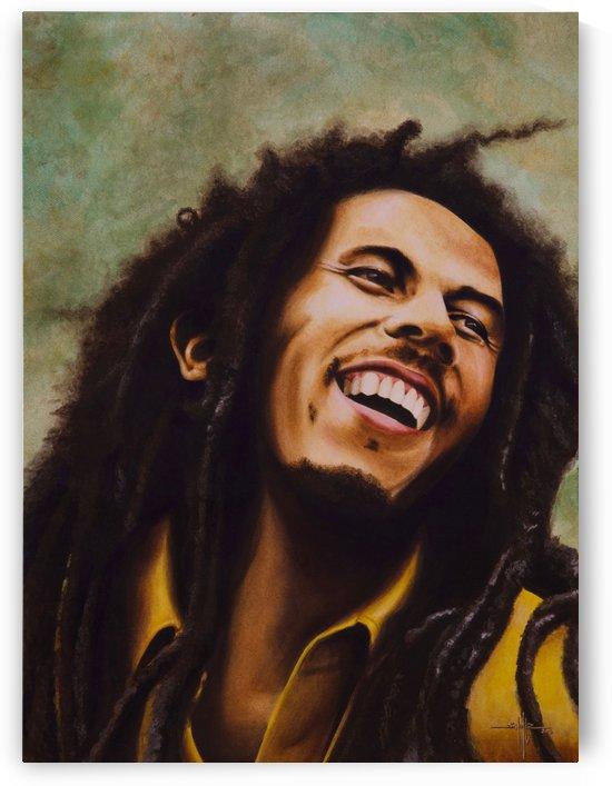 Bob Marley by Larry Schultz