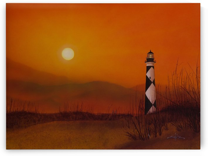 Cape Lookout Lighthouse by Larry Schultz