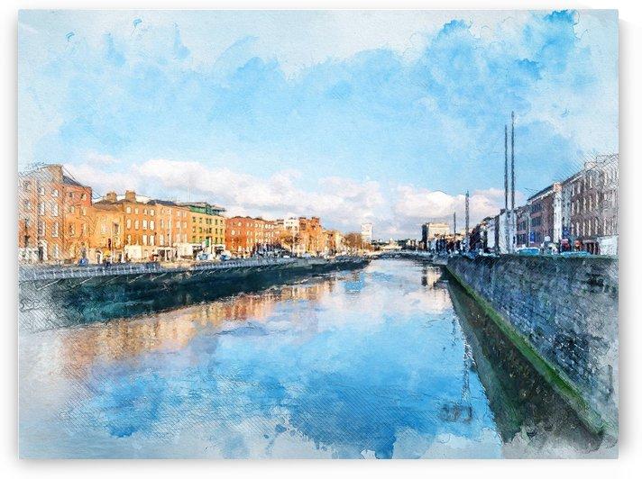 Dublin city art  by Justyna Jaszke