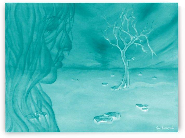 Angelic Presence by Faye Anastasopoulou