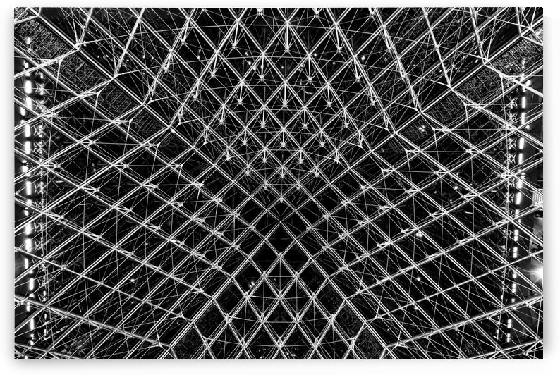 Louvre by Attila R  Kovacs