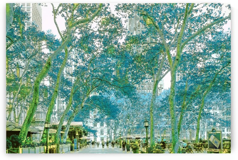 Bryant Park New York by Jean-Louis Desrosiers