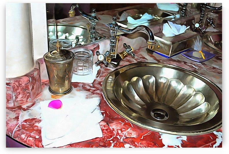 Bathroom Marrakesh 3 by Dorothy Berry-Lound