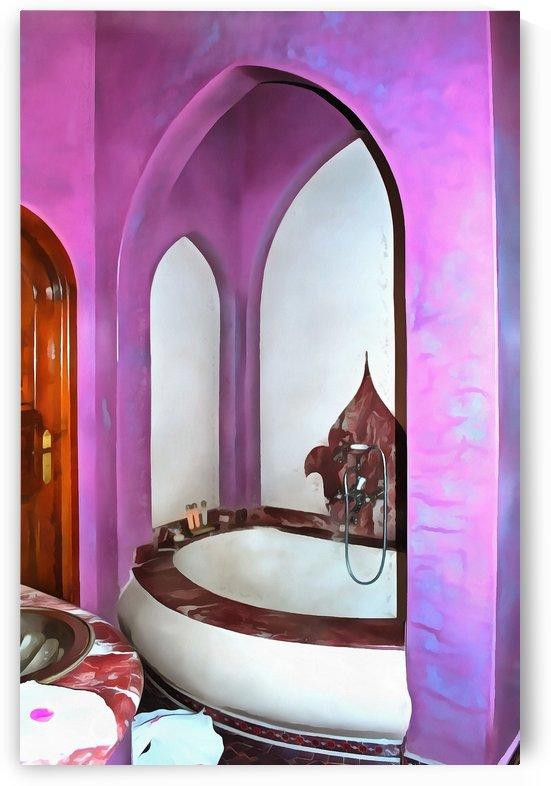 Bathroom Marrakesh 1 by Dorothy Berry-Lound