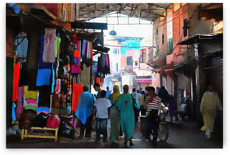 Souk Marrakesh 3 by Dorothy Berry-Lound