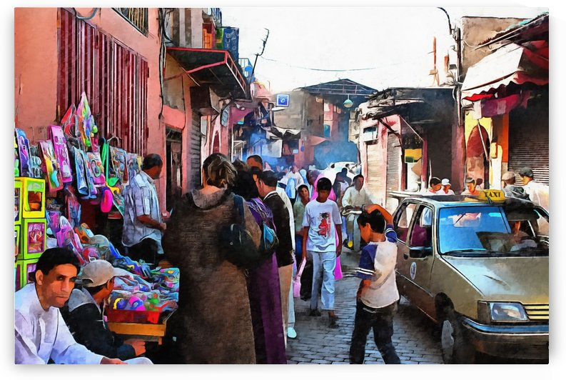 Souk Marrakesh 2 by Dorothy Berry-Lound