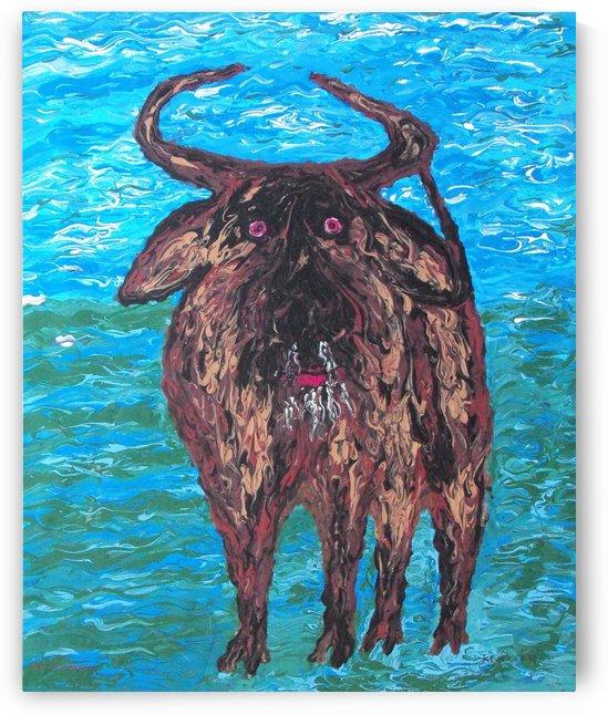 Scaredy Bull  by Keith A Loreth