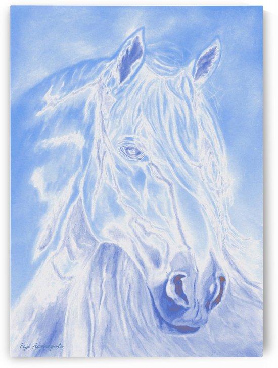 Celestial Stallion by Faye Anastasopoulou