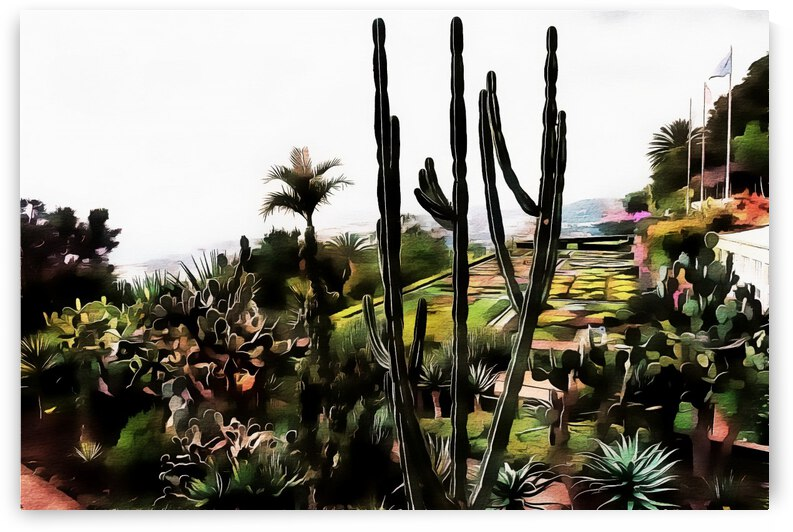 Jardim Tropical Monte Palace 2 by Dorothy Berry-Lound