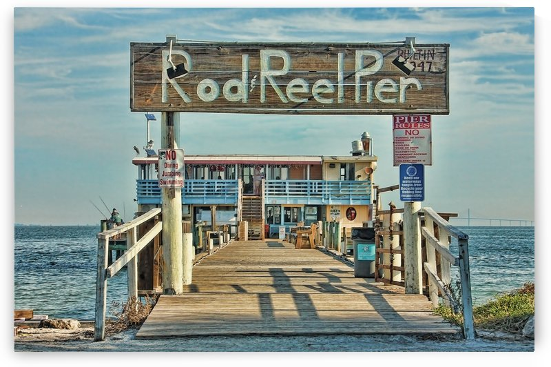 A Pier Called The Rod And Reel by HH Photography of Florida