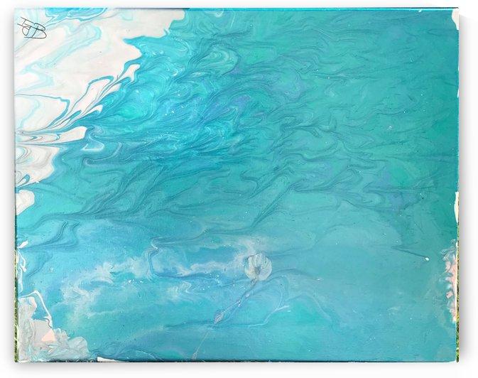 drifting jelly fish  by Imani  Bennett
