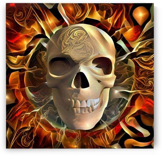 Skull by Bruce Rolff