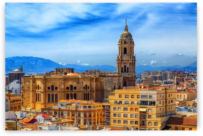 Church in Malaga by Darryl Brooks