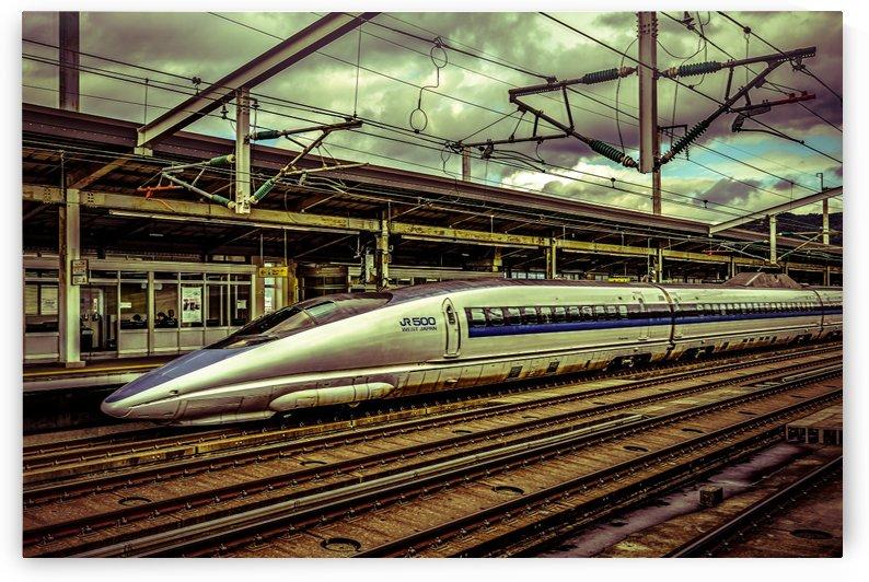 Fast Speed Train, Osaka, Japan by Daniel Ferreia Leites Ciccarino