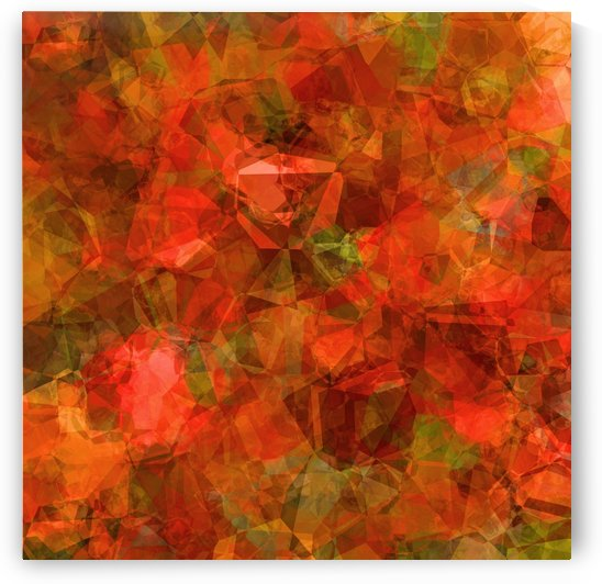 Sea Grape Abstract Square 1 by HH Photography of Florida