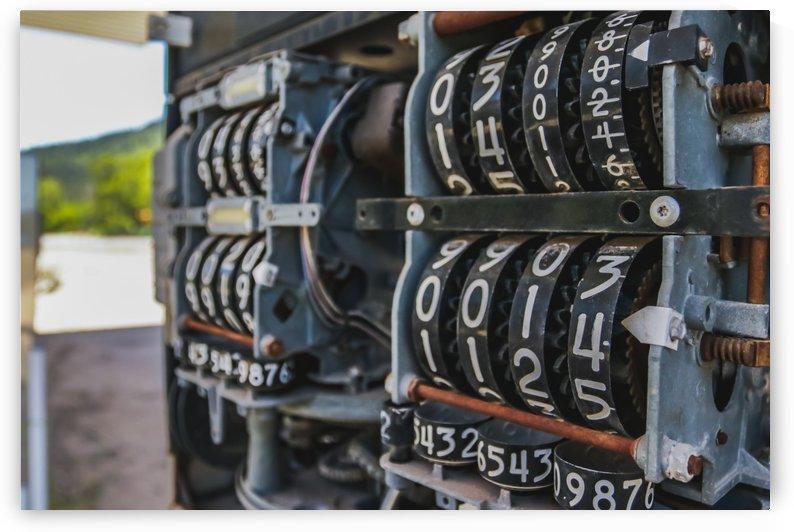 Gas Pump dials by Wilken Photos