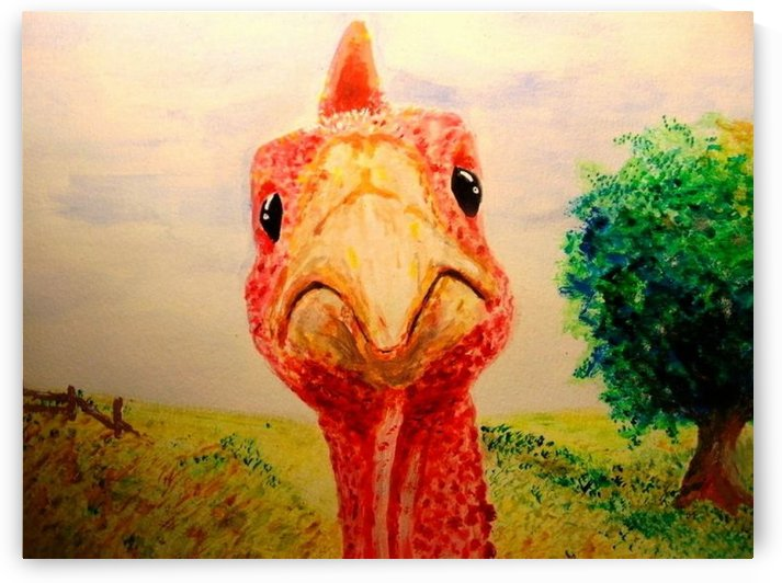 cluck by Ralph Cannell - Art by Cannell