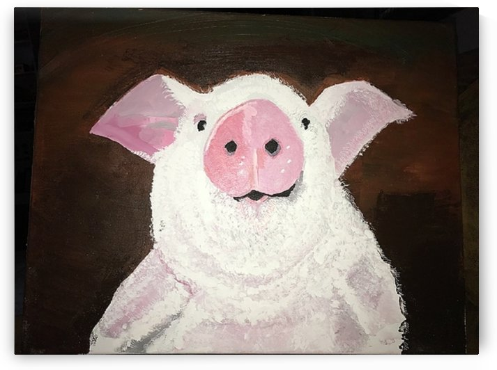 Pig by Ralph Cannell by Ralph Cannell - Art by Cannell