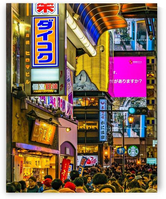 Dotonbori Night Scene, Osaka, Japan0151 by Daniel Ferreia Leites Ciccarino